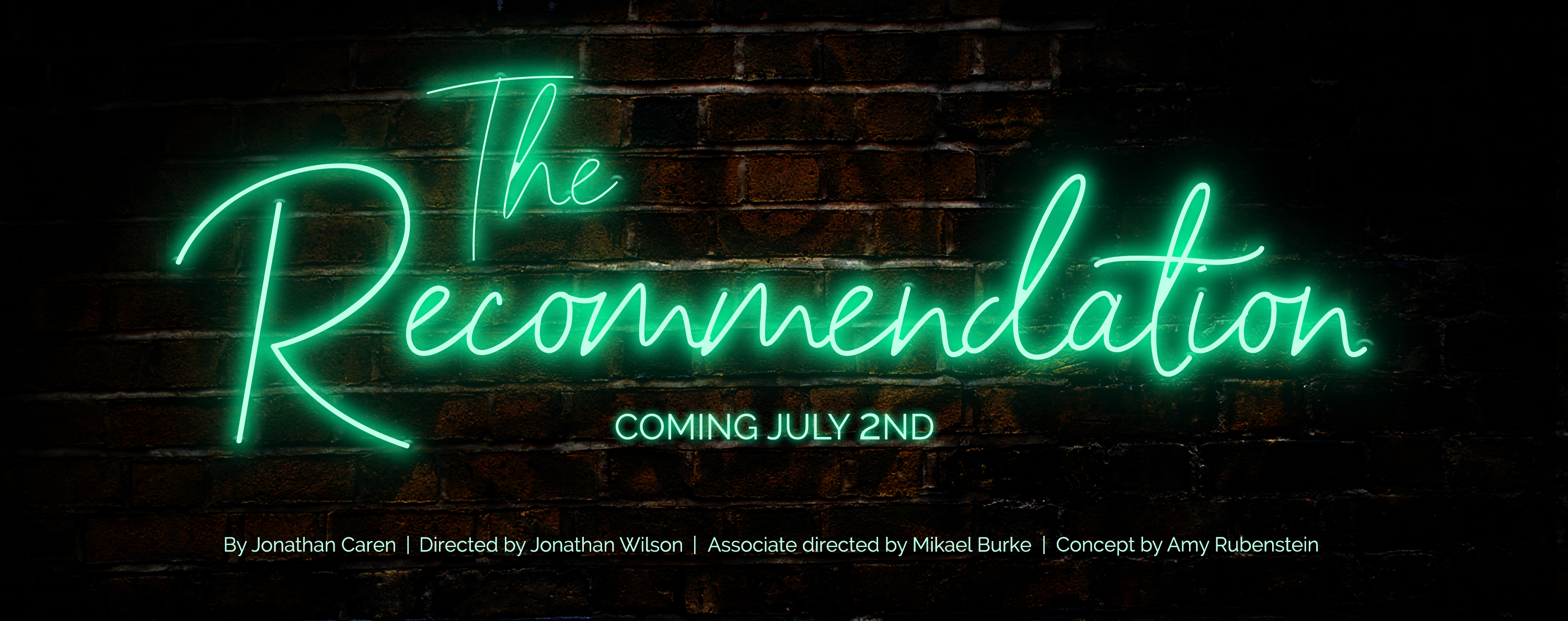 """The Recommendation"" at Windy City Playhouse"