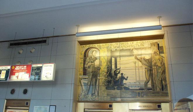 Uptown U.S.P.S. Post Office W.P.A. Murals