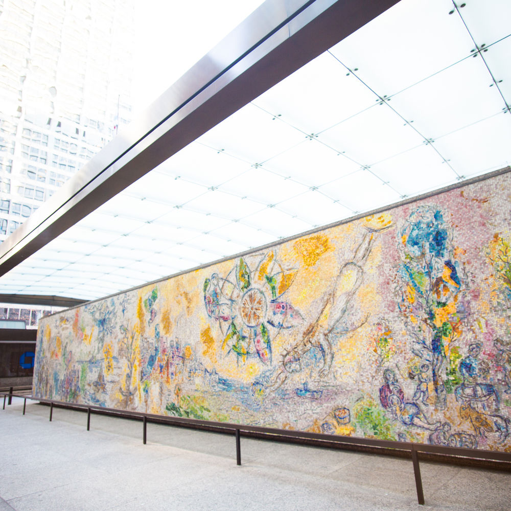 The Four Seasons Mosaic