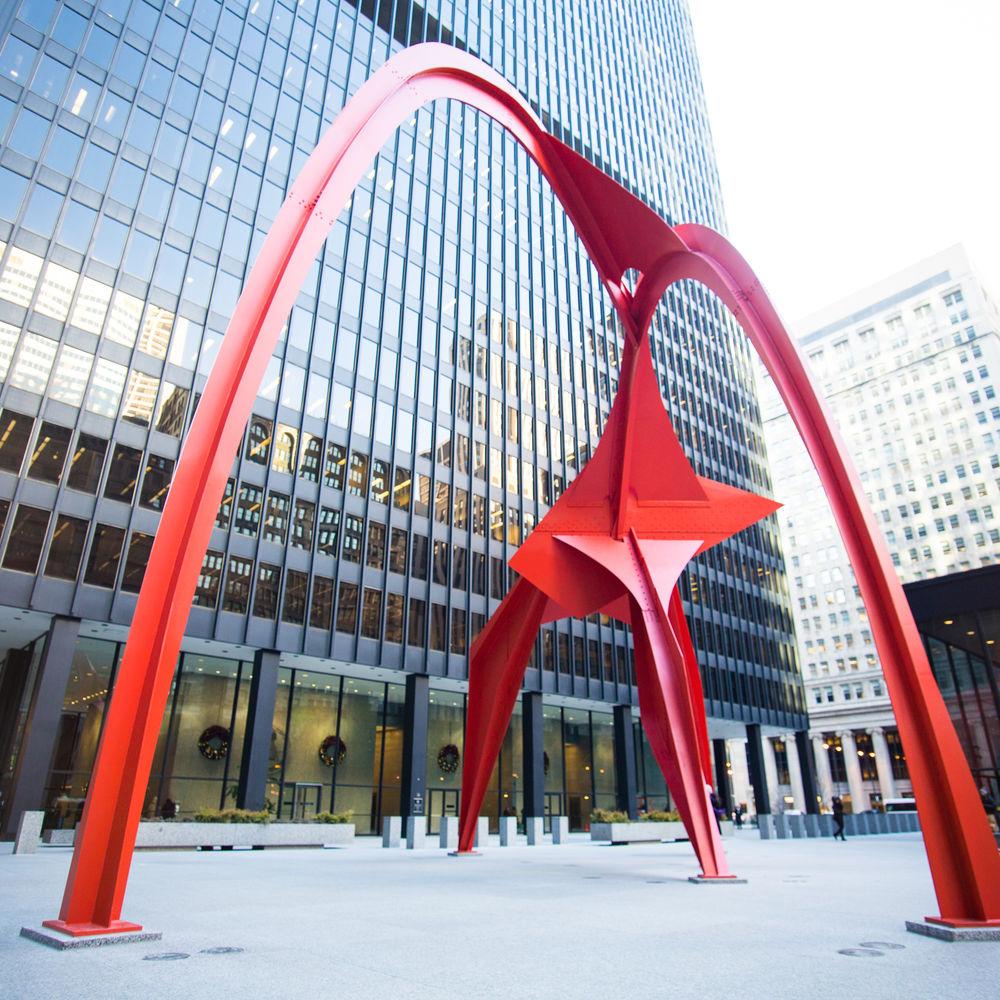 Calder's Flamingo