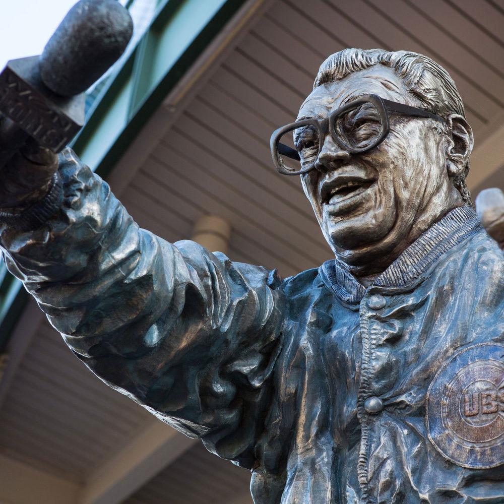 Harry Caray Statue