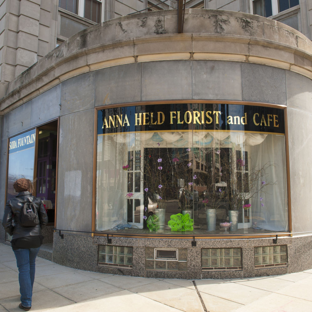 Anna Held Flower Shop and Soda Fountain Cafe