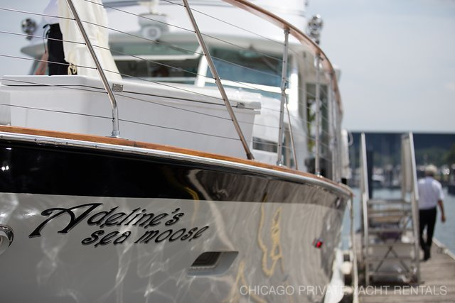 Adeline's Sea Moose – Chicago Private Yacht