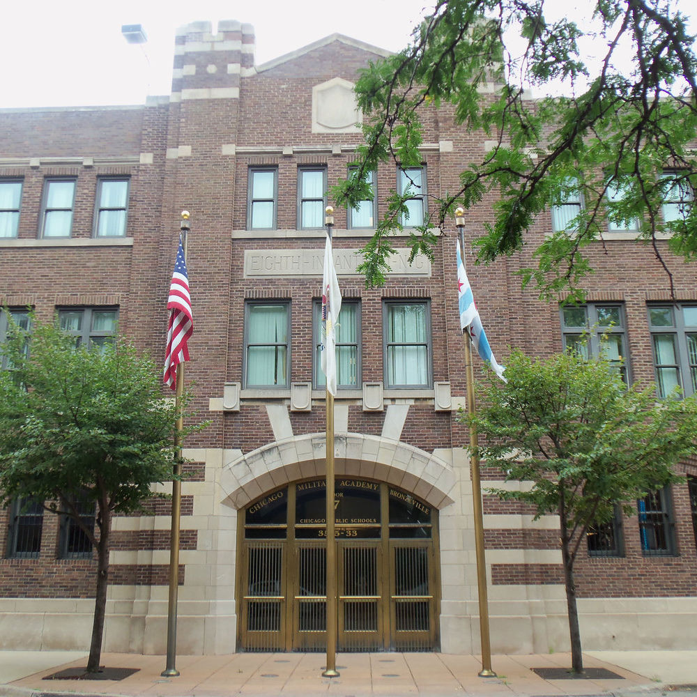 Chicago Military Academy (8th Regiment Armory)