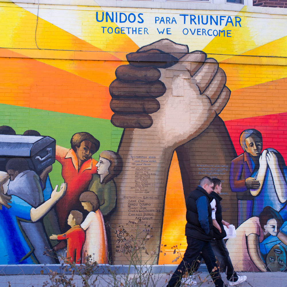 West Hubbard Street Murals
