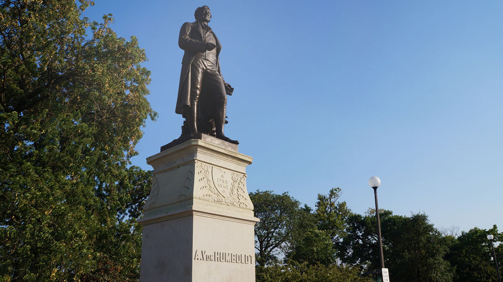 Alexander Von Humboldt Monument