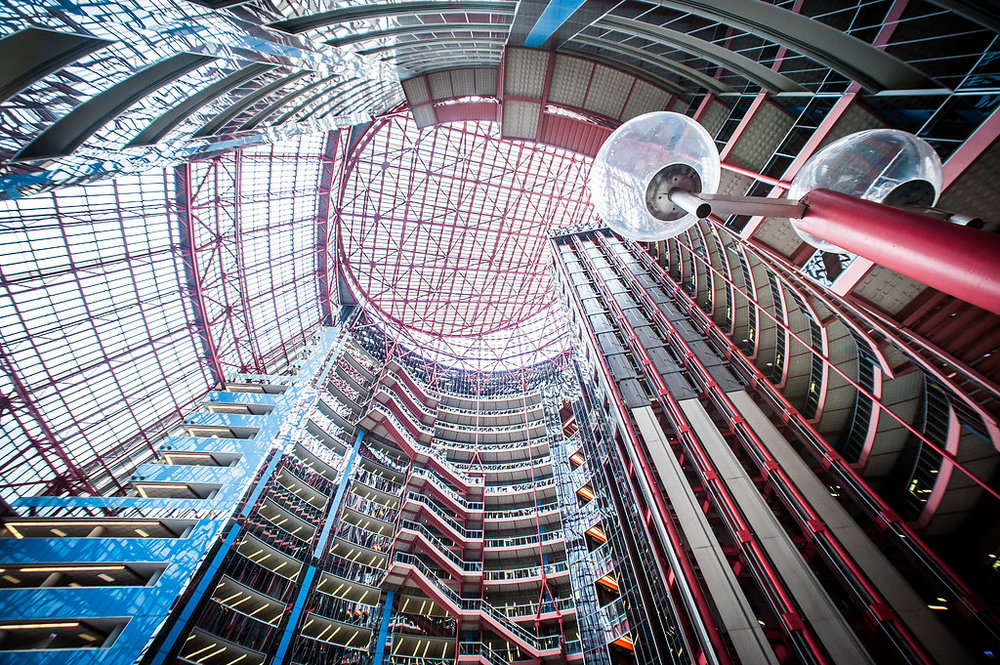 Atrium at the Thompson Center