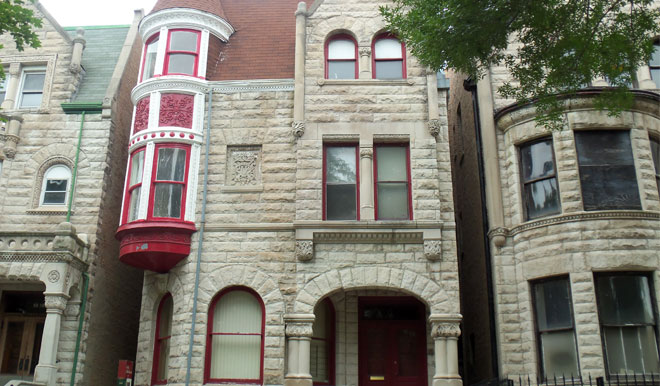 Former Residence of Ida B. Wells-Barnett