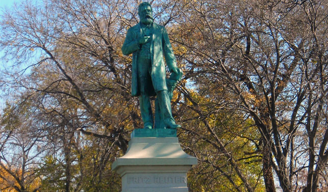 Fritz Reuter Monument