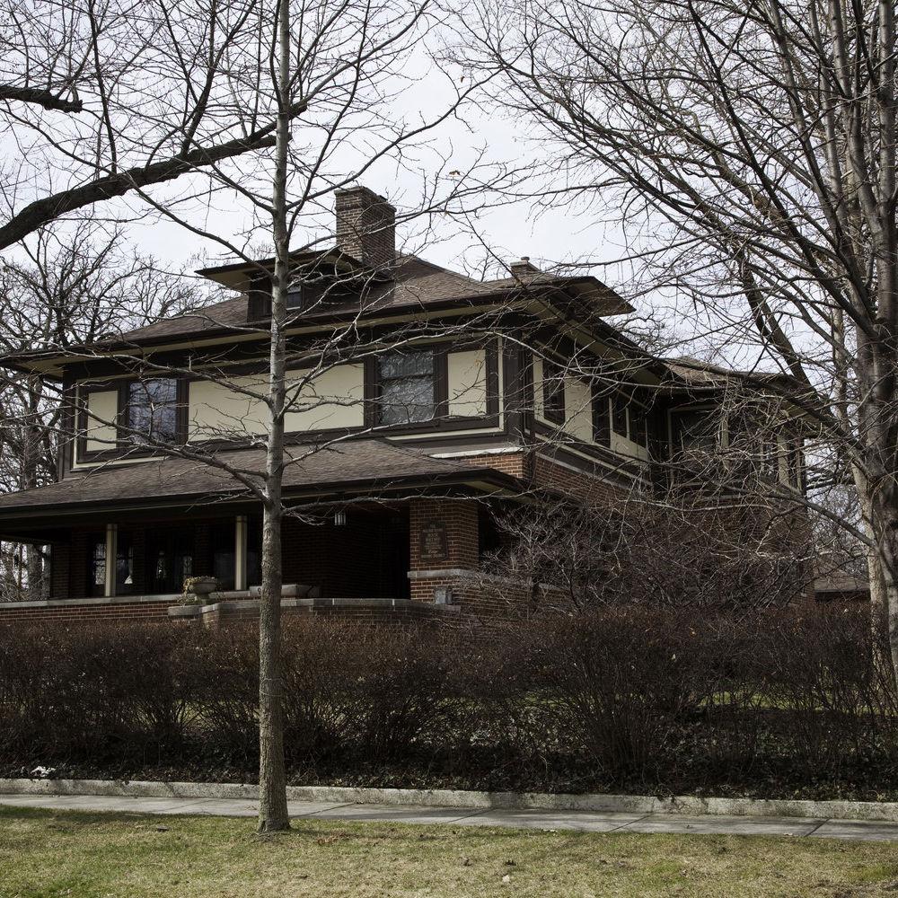 Frank Lloyd Wright's Williams & Jessie Adams House